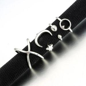 NEW Boho Silver Adjustable Midi Knuckle Rings